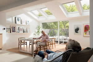 View Conservatory roof skylights velux